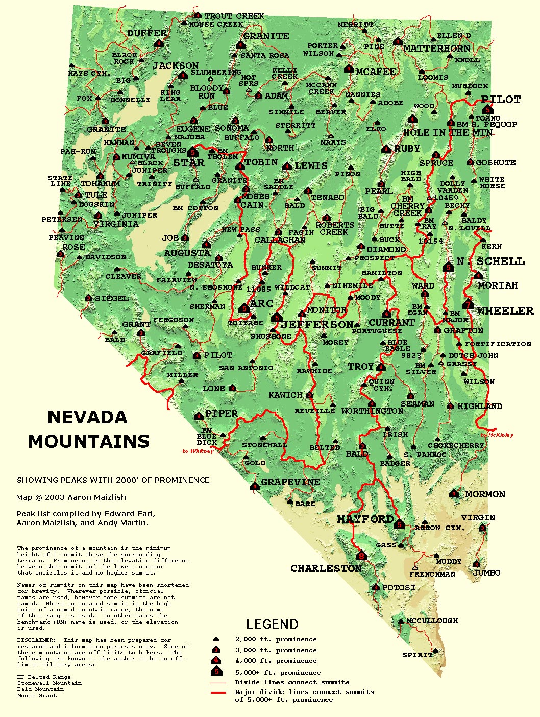 Maps Us Map Nevada